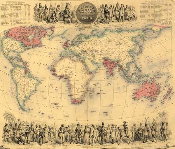 10 крупнейших империй за всю историю (20 фото)