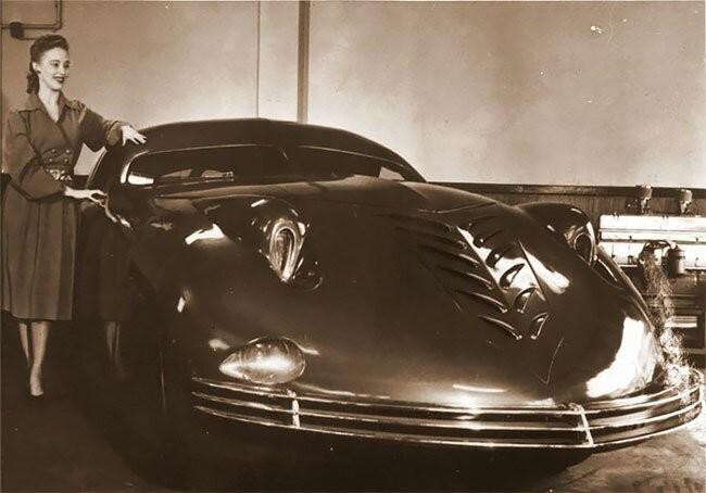 """""""Фантом Корсар"""" - автомобиль, опередивший свое время (7 фото)"""