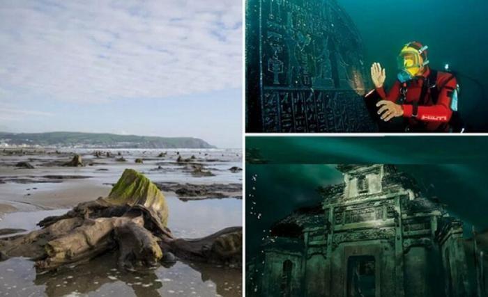 Тайны подводных городов (10 фото)