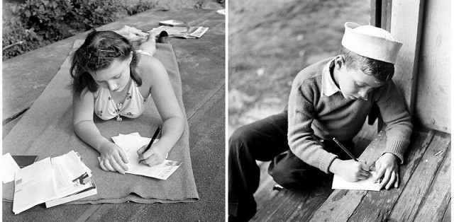 Американские летние лагеря в 50-е годы (16 фото)