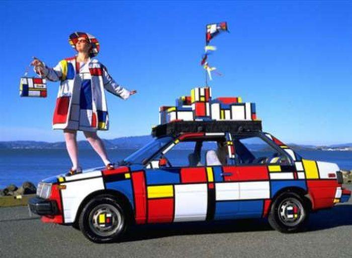 Странные и нелепые авто (40 фото)