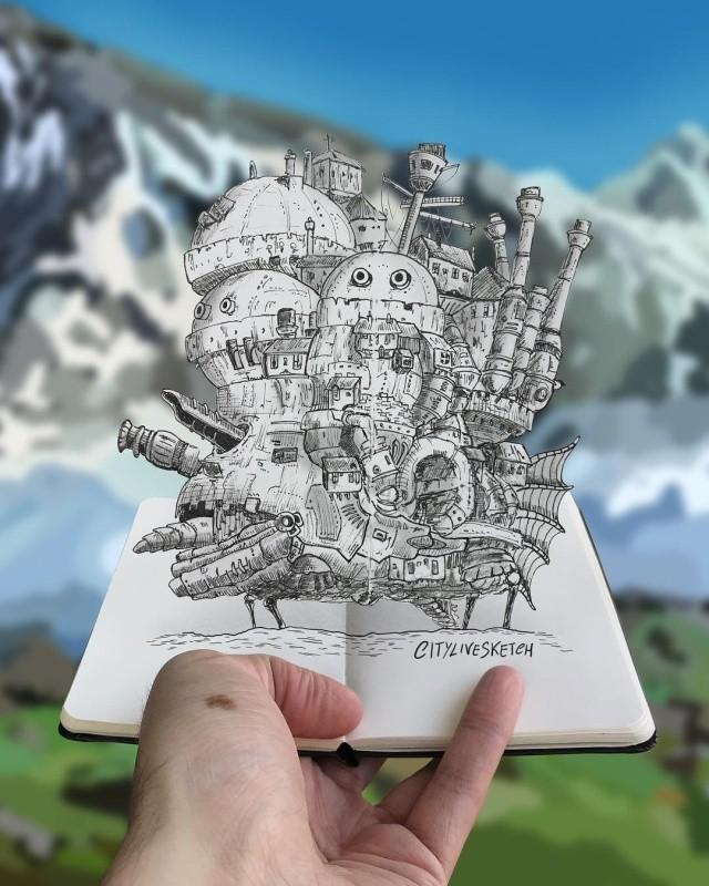 Соединяя фантазию и реальный мир (20 фото)