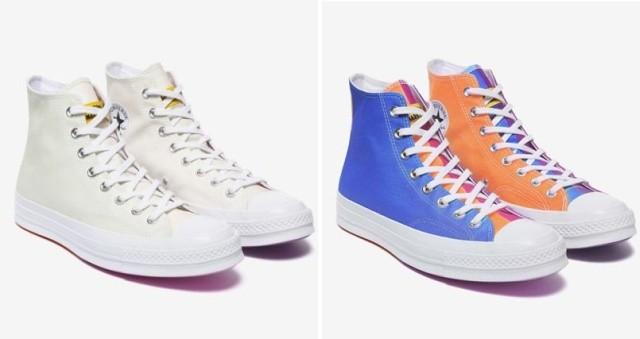 Обувь, которая меняет цвет (5 фото)