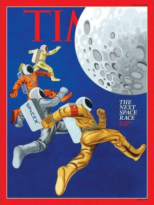 Обложка журнала «Time»: 1968 - 2019 (2 фото)
