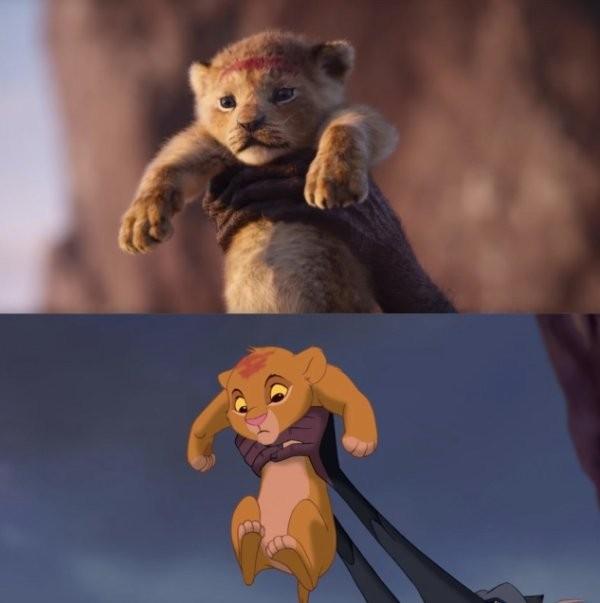Король лев: оригинальная и новая версии (23 фото)