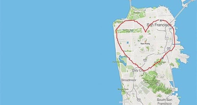 Картины на карте Сан-Франциско (24 фото)