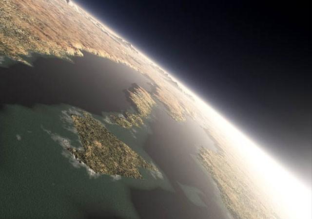Как выглядел Марс 4 миллиарда лет назад? (7 фото)