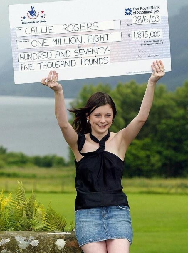 Как изменилась школьница, которая выиграла 1,8 млн фунтов (5 фото)