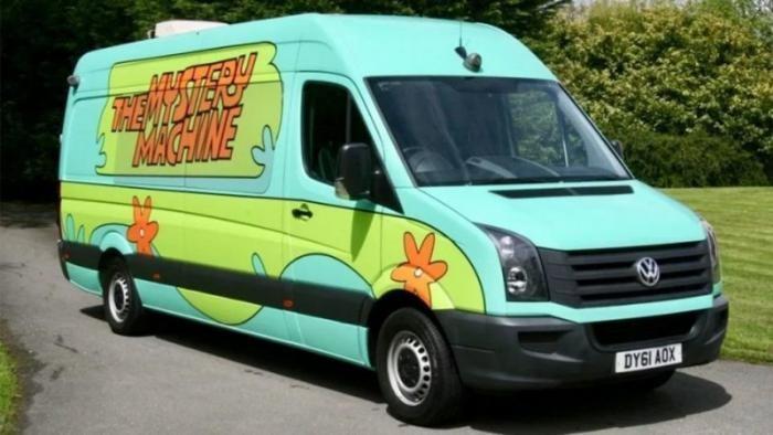 На продажу выставили фургон из мультфильма «Скуби Ду» (6 фото)