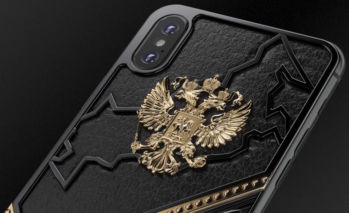 Роскошь по-русски: кастомный iPhone от отечественного бренда (5 фото)