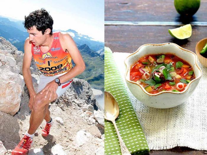 Как питаются спортсмены (11 фото)