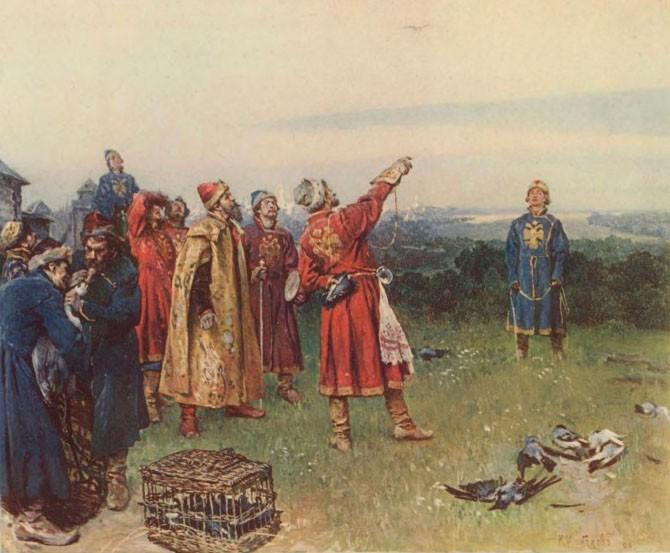 Кого на Руси называли «подклобучниками» (8 фото)