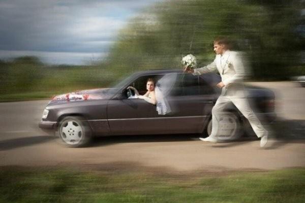 Эпичные свадебные фото (46 фото)