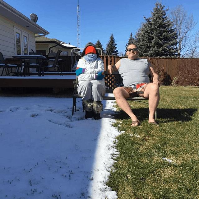 Красноречивые фотографии про жизнь в Канаде (15 фото)