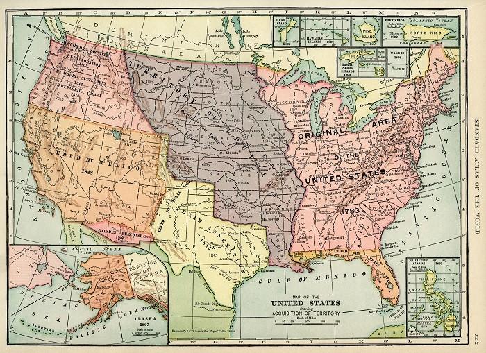 Как США покупали себе территории (4 фото)