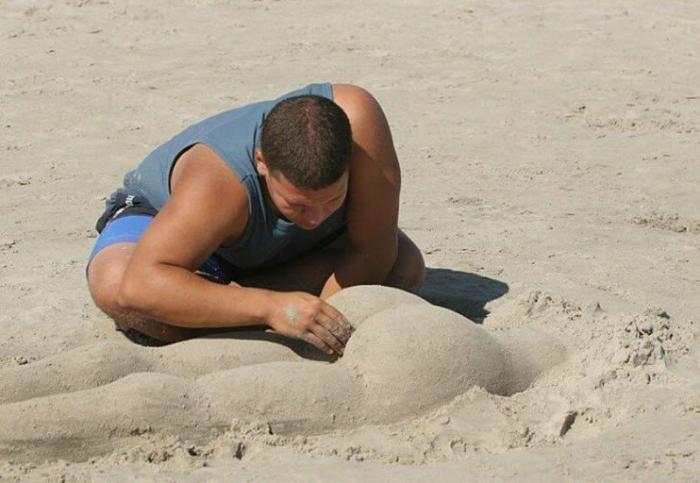 Развлечения на пляже (16 фото)