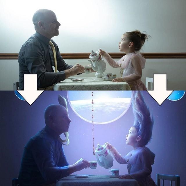 Фотограф поэтапно показал, как Photoshop превращает кадр (33 фото)