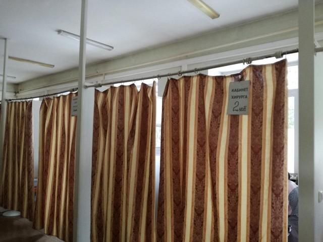 """Медицинский """"оупенспейс"""" в больнице Новосибирска (3 фото)"""