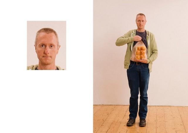 Фотопроект, высмеивающий традиционные фото на паспорт (25 фото)