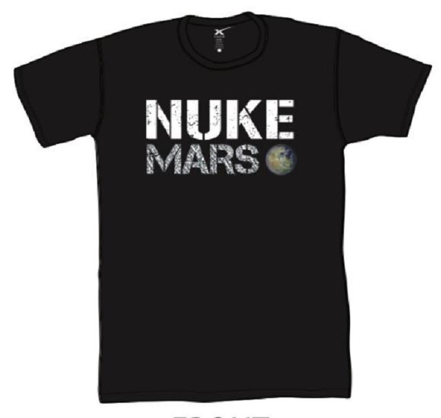 Илон Маск предложил сбросить ядерную бомбу на Марс (4 фото)