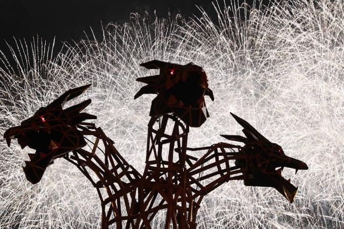 Как прошел пятый международный фестиваль фейерверков (8 фото)