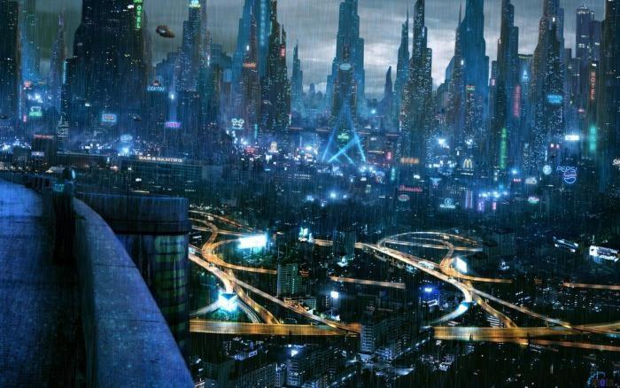 В Саудовской Аравии появится мегаполис будущего (2 фото)