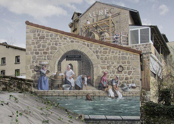 Художник превращает стены зданий в произведения искусства (31 фото)