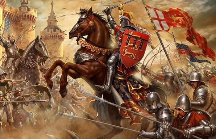 Странные битвы Средневековья, достойные экранизации (5 фото)