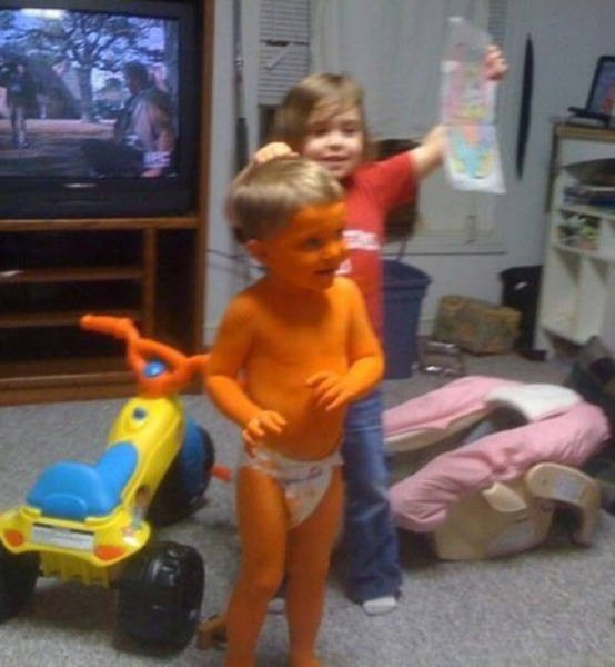 Дети шалят (40 фото)