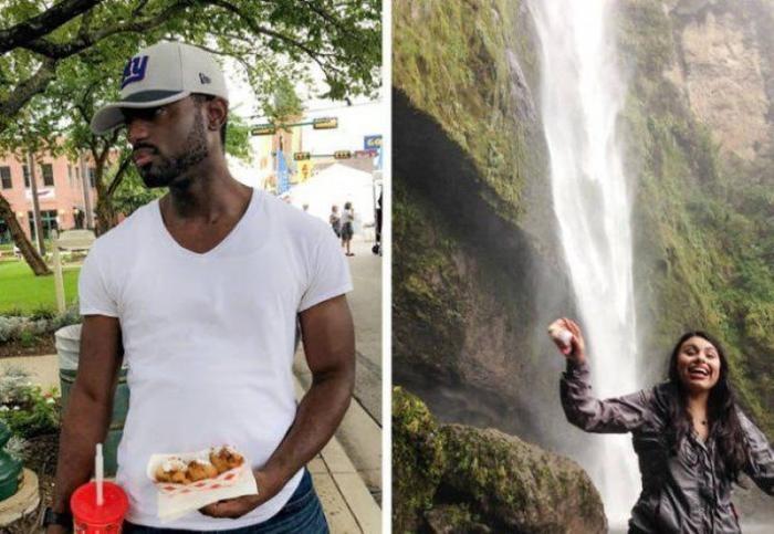 Разительная разница между тем как делают фото девушки и парни (21фото)