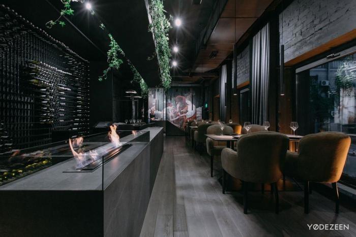 Интерьер ресторана Tolstiy&Tonkiy в Киеве (25 фото)