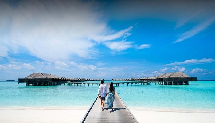 Роскошный подводный ресторан на Мальдивах (10 фото)