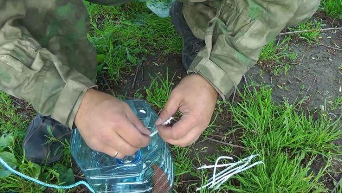 Способ наловить рыбы без специальных снастей (5 фото)