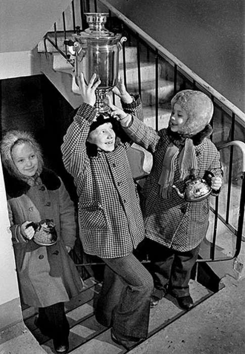Подборка фотографий советских детей (35 фото)