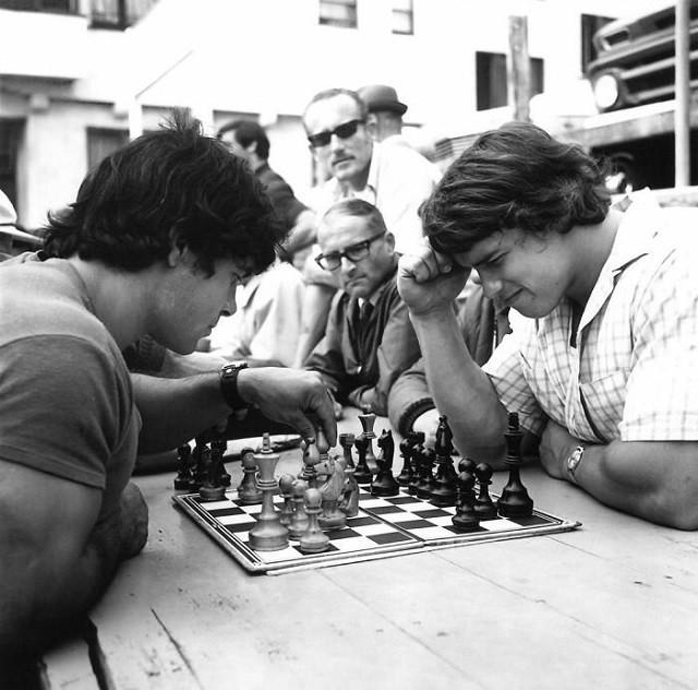 Настоящая дружба: Арнольда Шварценеггера и Франко Коломбо (24 фото)