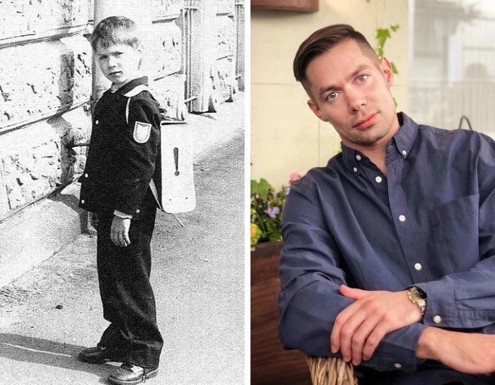 Как российские знаменитости выглядели в школьные годы (28 фото)