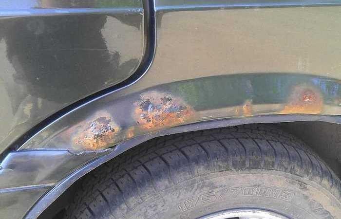 Распространенная ошибка автомобилистов (4 фото)