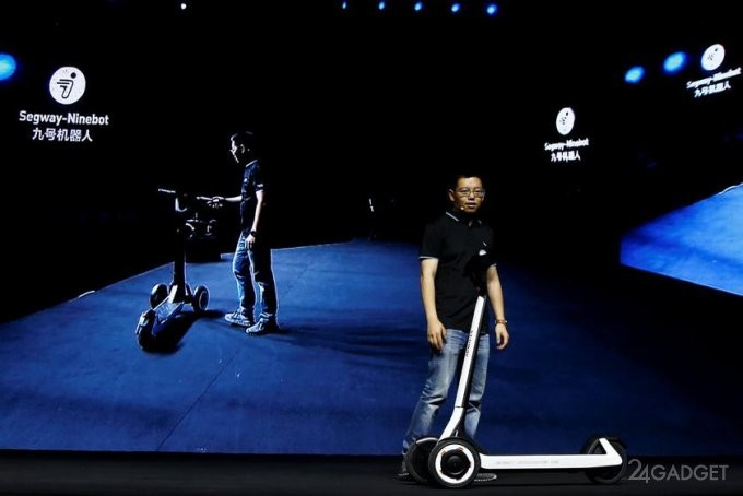 Самокаты Segway-Ninebot самостоятельно доберутся до зарядки (3 фото)