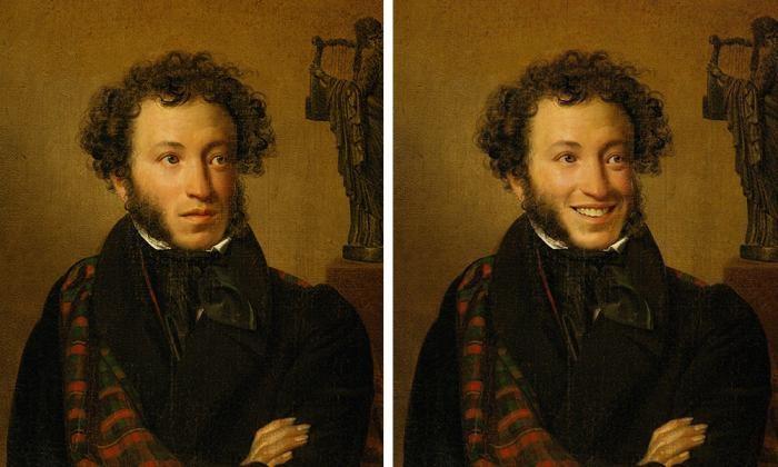 Как бы выглядели картины русских художников были б с улыбкой (16 фото)