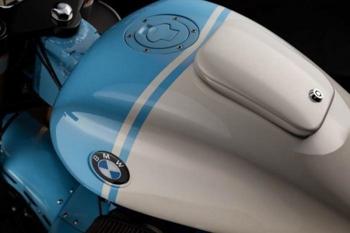 Кастом-байк BMW K1200RS Mille Miglia X от Galaxy Custom (18 фото)