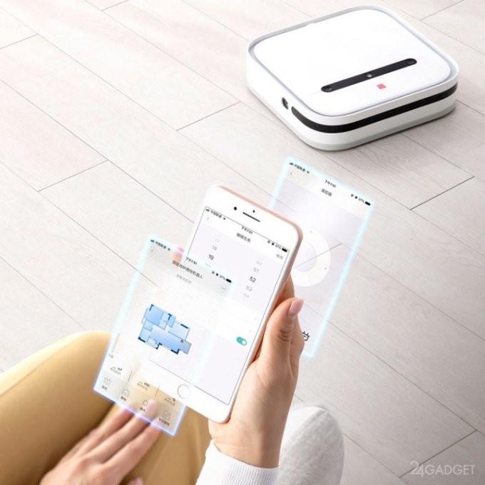 """Поклонники Xiaomi знакомятся с роботом-""""тряпкой"""" за $184 (4 фото)"""