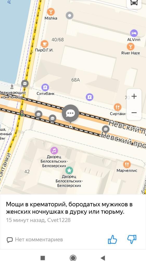 Комментарии недовольных тем, что перекрыли Невский проспект (9 фото)