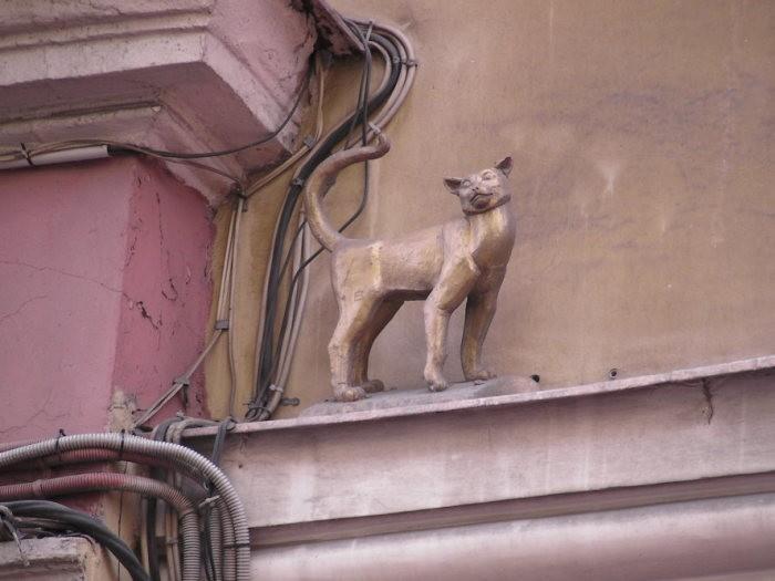 Здания в Санкт-Петербурге, которые способны исполнять желания (6 фото)