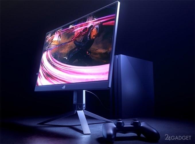 ASUS представил портативный игровой монитор ROG Strix XG17 (6 фото)