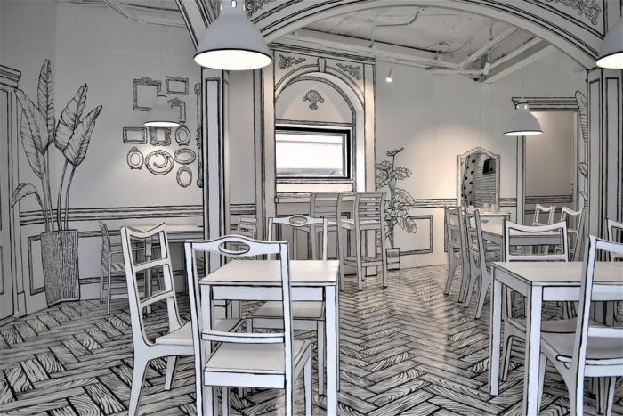 Бары и рестораны, которые могут удивить посетителей (18 фото)