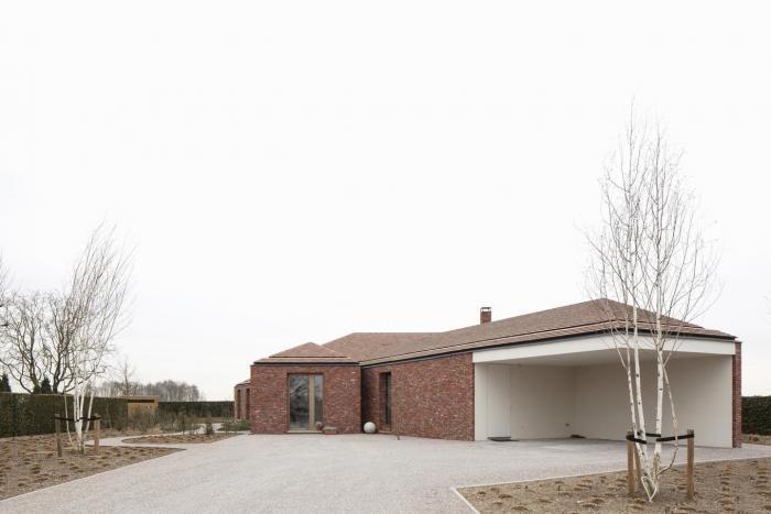 Расширение старого бунгало в Бельгии (15 фото)