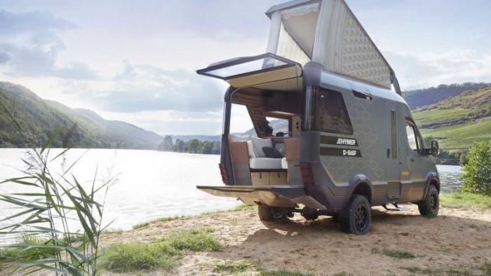 Концепт Hymer VisionVenture предсказывает будущее домов на колесах (13 фото)