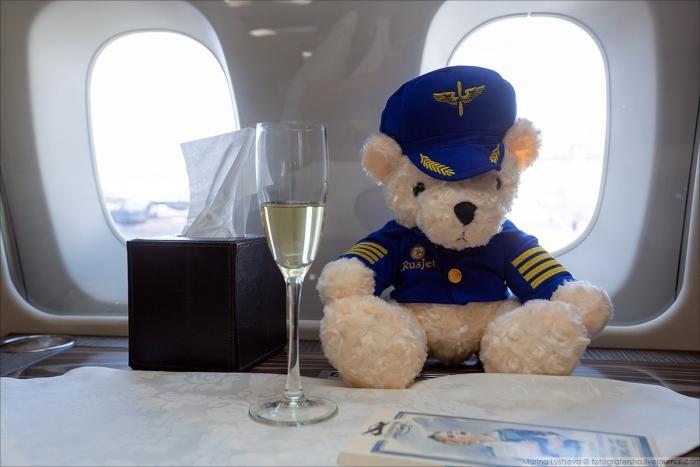 Блогеров пустили в личный самолет главы Минпромторга (21 фото)