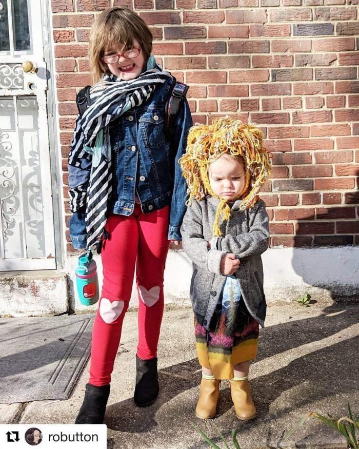 Дети, которым родители разрешили одеться самостоятельно (16 фото)