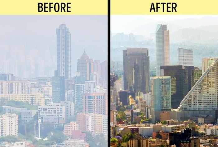 Башня от мексиканских разработчиков, очищающая воздух (6 фото)